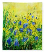 Blue Bells  Fleece Blanket
