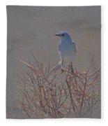 Blue Bird Colored Pencil Fleece Blanket