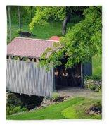 Blue Bird Farm Fleece Blanket
