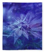 Blue Buds Fleece Blanket
