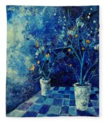 Blue Bunch Fleece Blanket