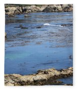 Blue California Bay Fleece Blanket