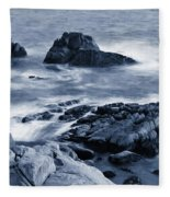 Blue Carmel Fleece Blanket