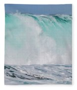 Blue Cascade   Hawaiian Wave Fleece Blanket