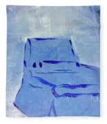 Blue Chair Fleece Blanket