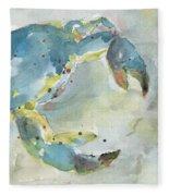Blue Crab. Fleece Blanket