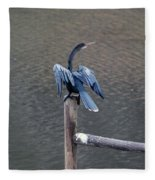 Blue Darter Fleece Blanket