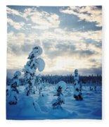 Blue Days Fleece Blanket