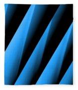 Blue Directions Fleece Blanket