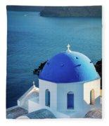 Blue Dome Fleece Blanket