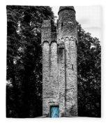 Blue Door Tower Fleece Blanket