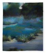 Blue Eden Fleece Blanket