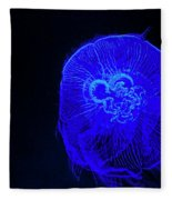 Blue Energy - Jellyfish Fleece Blanket