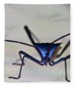 Blue-eyed Monster Fleece Blanket