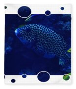 Blue Fish Fleece Blanket