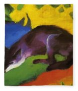 Blue Fox 1911 Fleece Blanket