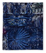 Blue Gate Barcelona Fleece Blanket