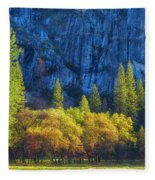 Blue Granite Fleece Blanket