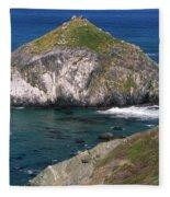 Blue Green Seas - Highway One Fleece Blanket