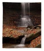 Blue Hen Falls And Cascade Fleece Blanket
