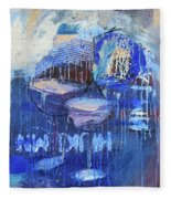 Blue Hour Fleece Blanket