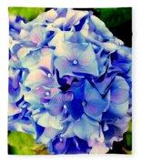 Blue Hues Fleece Blanket