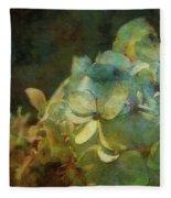 Blue Hydrangea Sunset Impression 1203 Idp_2 Fleece Blanket