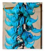 Blue Jade Strand Fleece Blanket