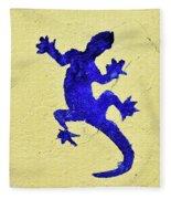 Blue Lizard Fleece Blanket