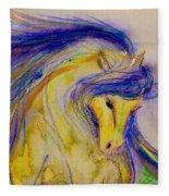 Blue Mane And Tail Fleece Blanket