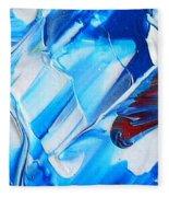 blue mode I Fleece Blanket