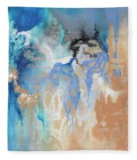 Blue Monday Fleece Blanket