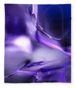 Blue Moon And Wine Spirits Fleece Blanket