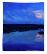 Blue Morning Fleece Blanket
