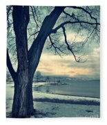 Blue Morning Fleece Blanket
