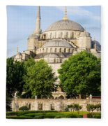 Blue Mosque Fleece Blanket