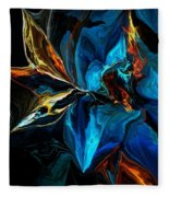 Blue Mystery 062915 Fleece Blanket