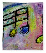 Blue Note Fleece Blanket