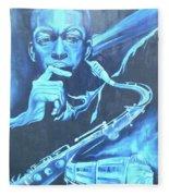Blue Note Fleece Blanket