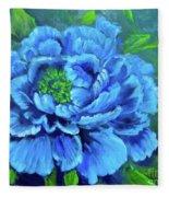 Blue Peony Jenny Lee Discount Fleece Blanket