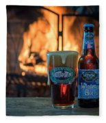 Blue Point Winter Ale By The Fire Fleece Blanket