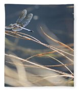 Blue Pond Fleece Blanket