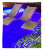 Blue Pool Fleece Blanket