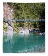 Blue Pools New Zealand Fleece Blanket