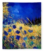 Blue Poppies 459070 Fleece Blanket