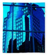 Blue Reflections ... Fleece Blanket