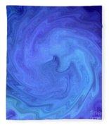 Blue Rendevous Fleece Blanket