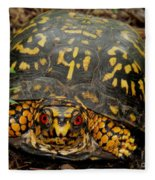 Blue Ridge Box Turtle Fleece Blanket