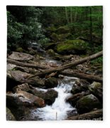 Blue Ridge Brook Fleece Blanket