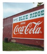 Blue Ridge Coke Fleece Blanket